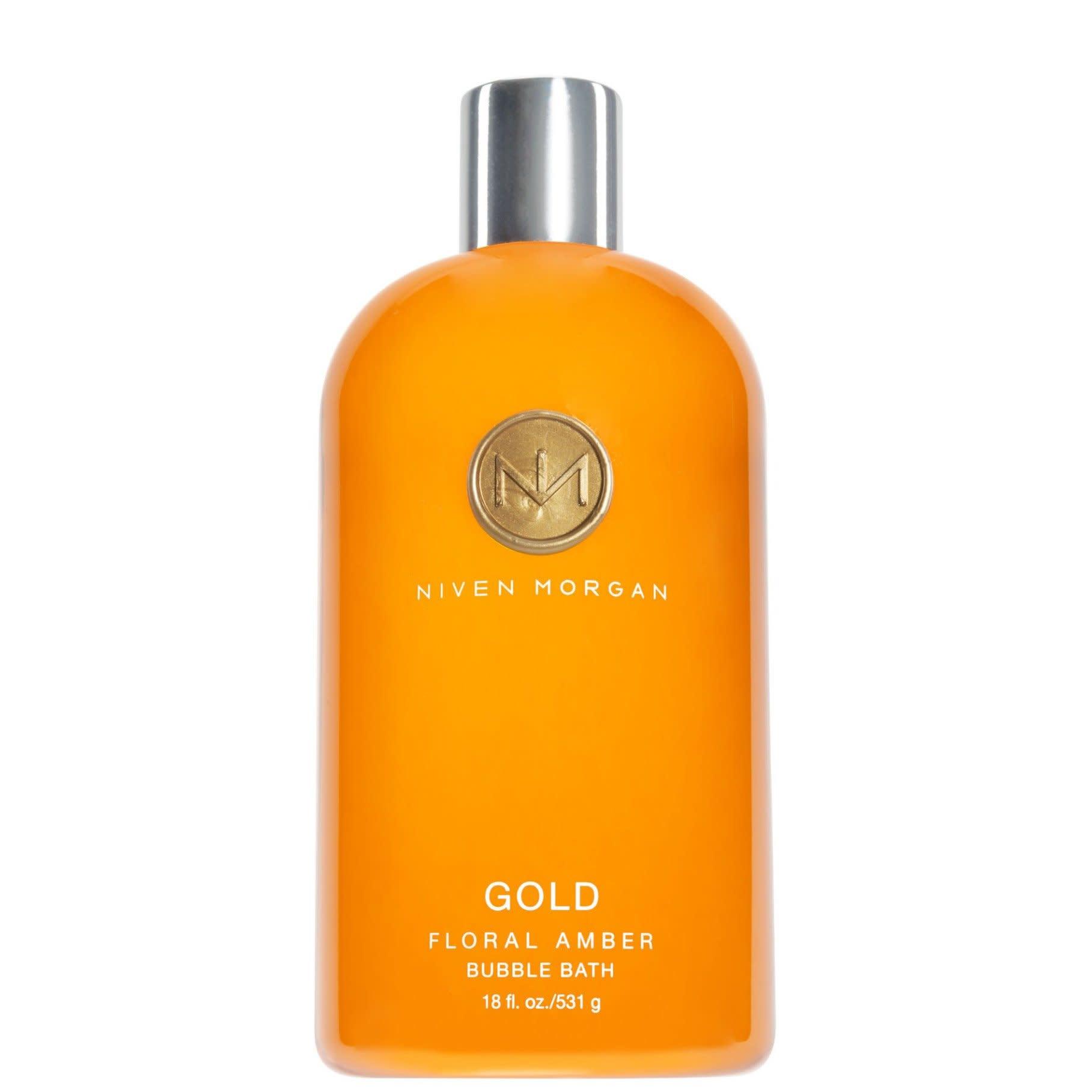 Niven Morgan Bubble Bath- Gold