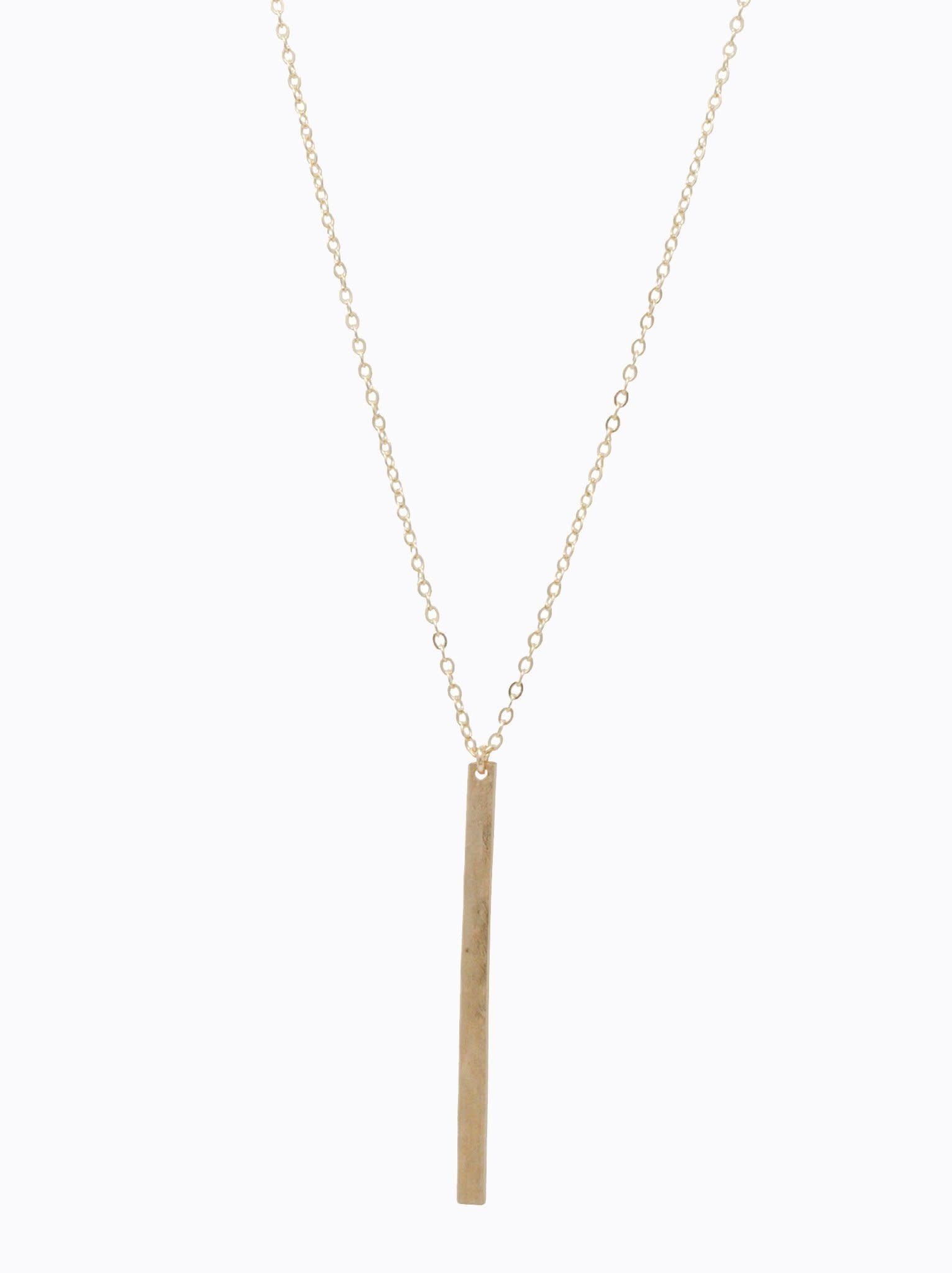 ABLE Gold Fin Necklace