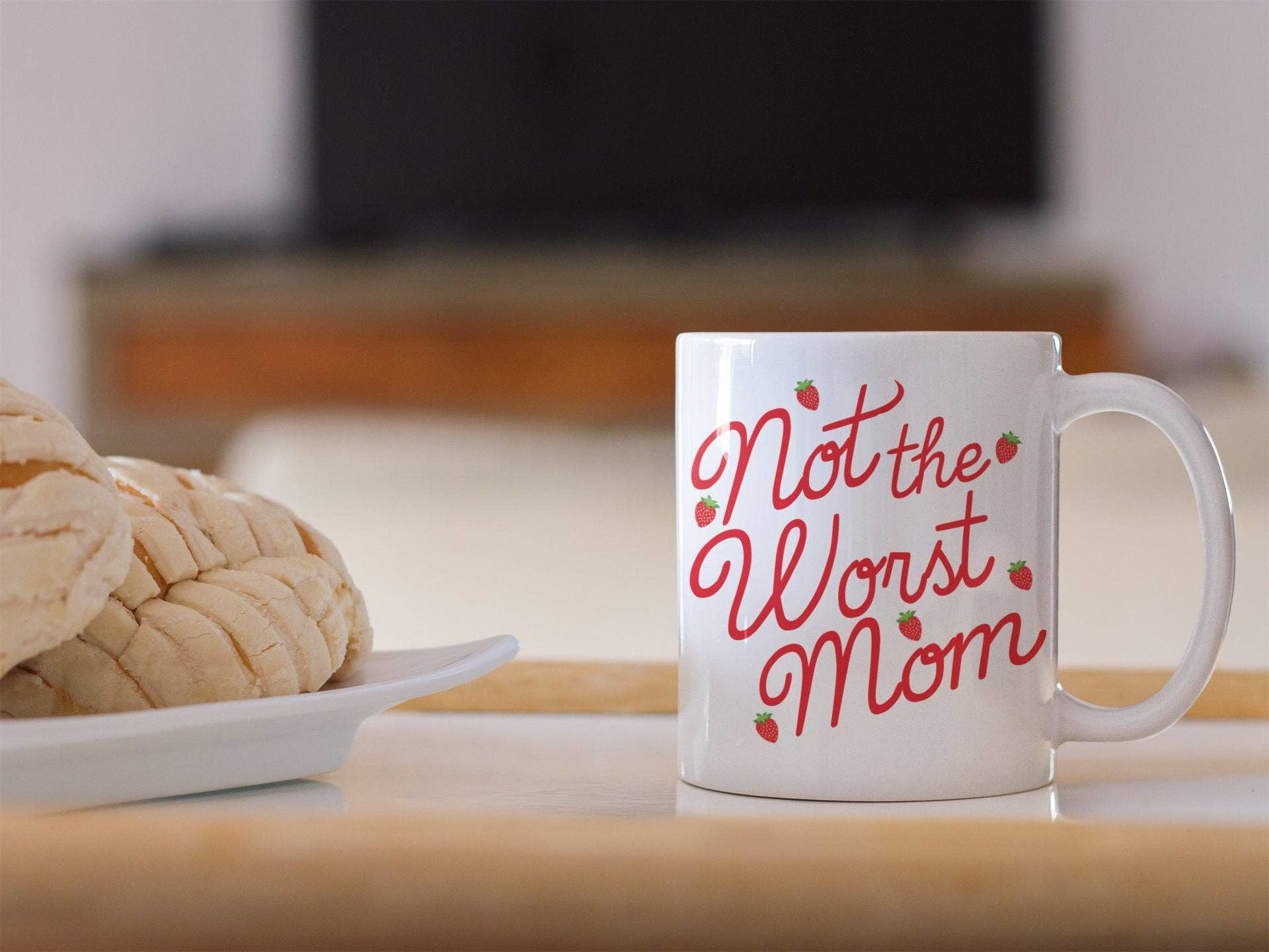 Do Pray Tell Not The Worst Mom Mug
