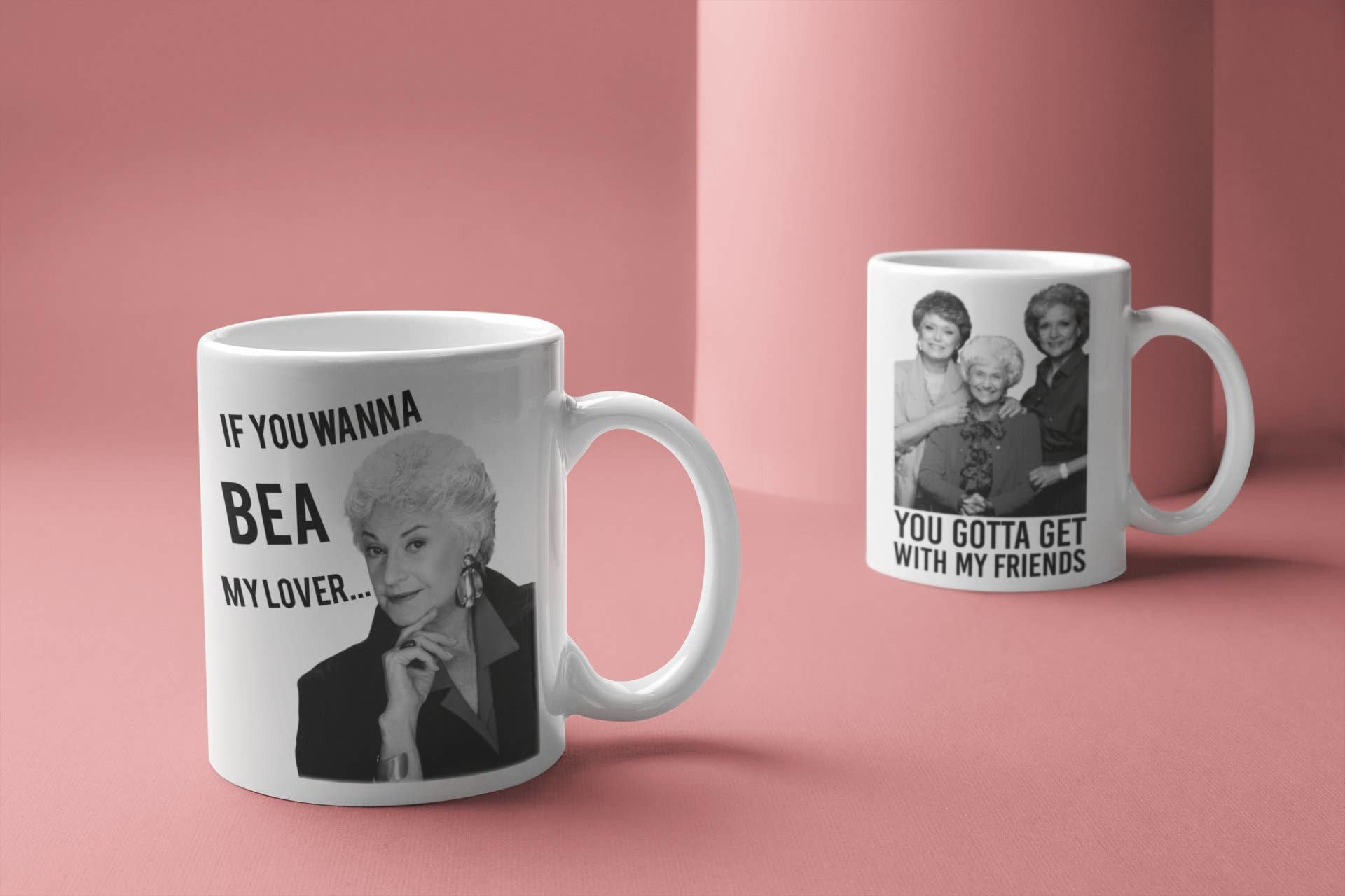 Do Pray Tell Golden Girls Mug Set