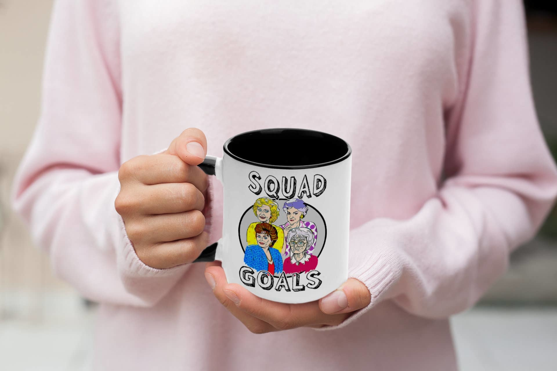 Do Pray Tell Squad Goals Mug