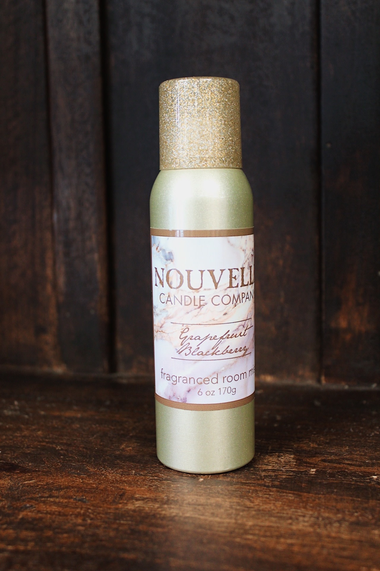 Nouvelle Candle Company Grapefruit Blackberry Room Spray
