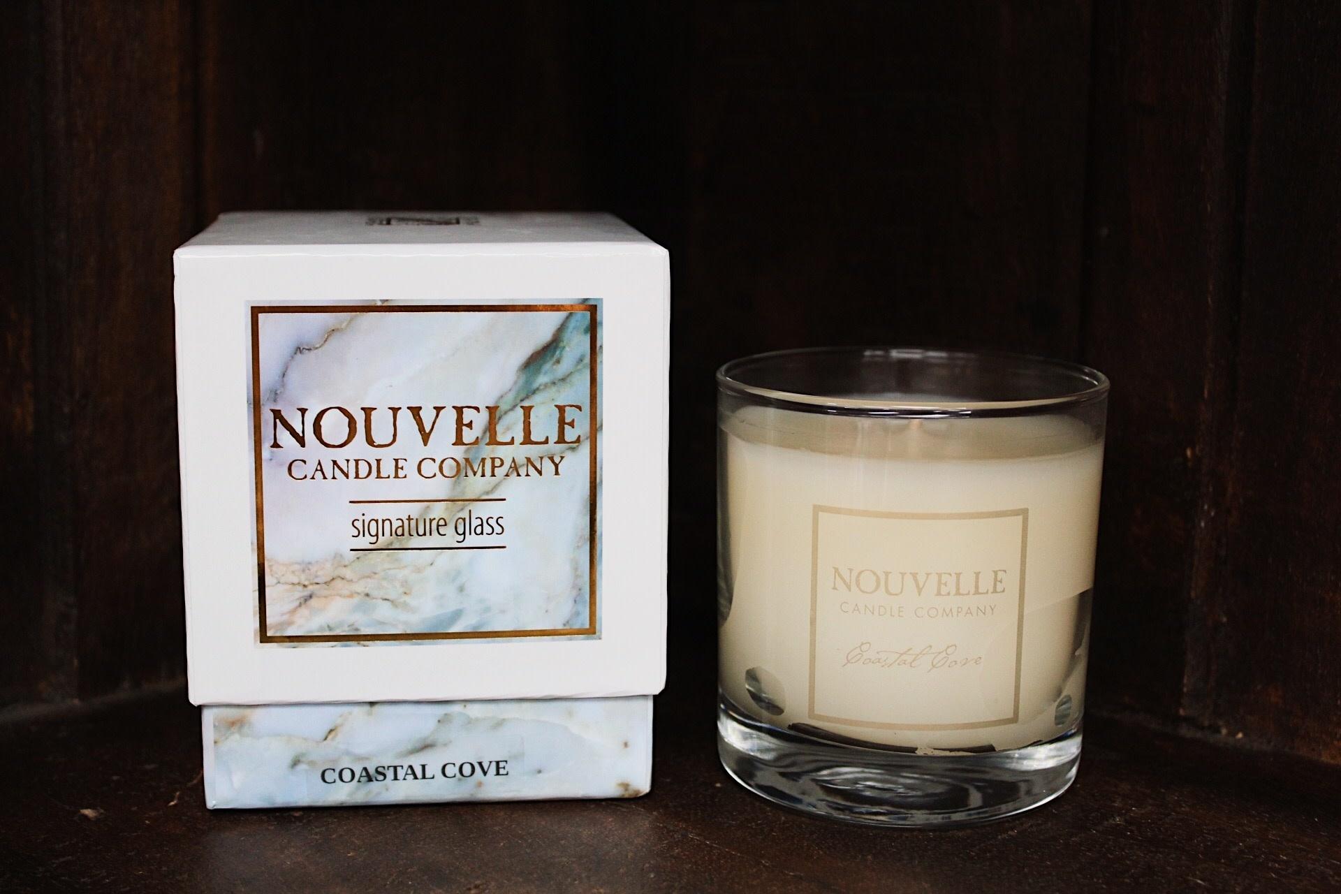 Nouvelle Candle Company Coastal Cove Large Glass