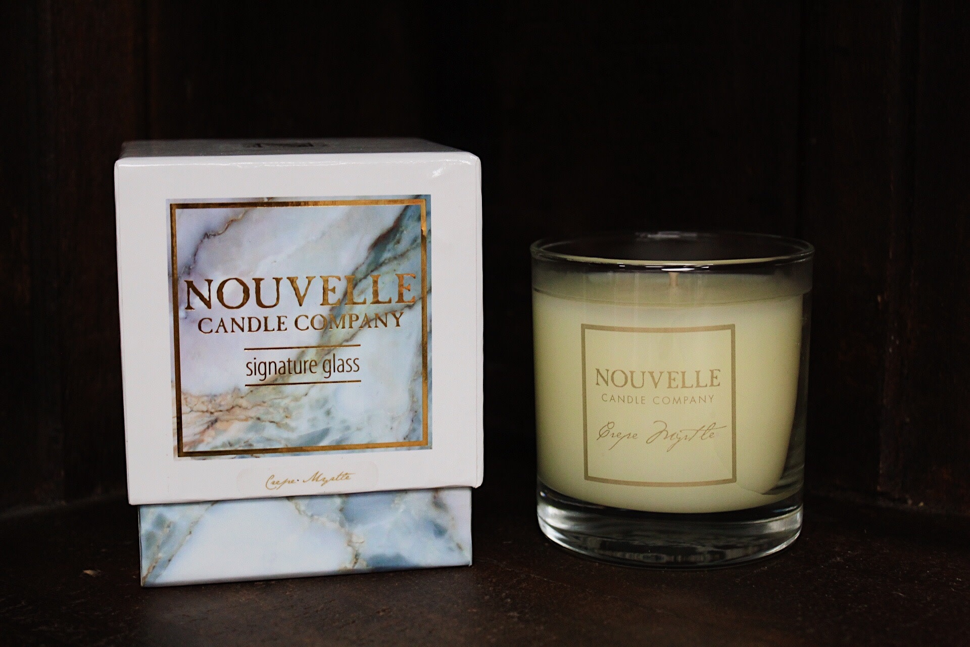 Nouvelle Candle Company Crepe Myrtle Large Glass