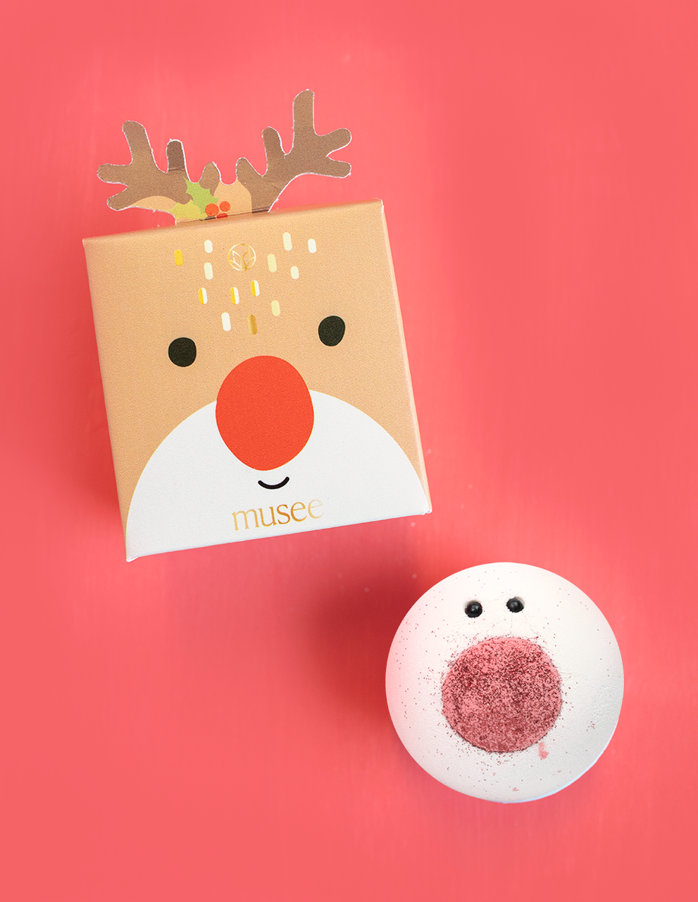 Musee Rudolph The Red Nosed Reindeer Bath Balm