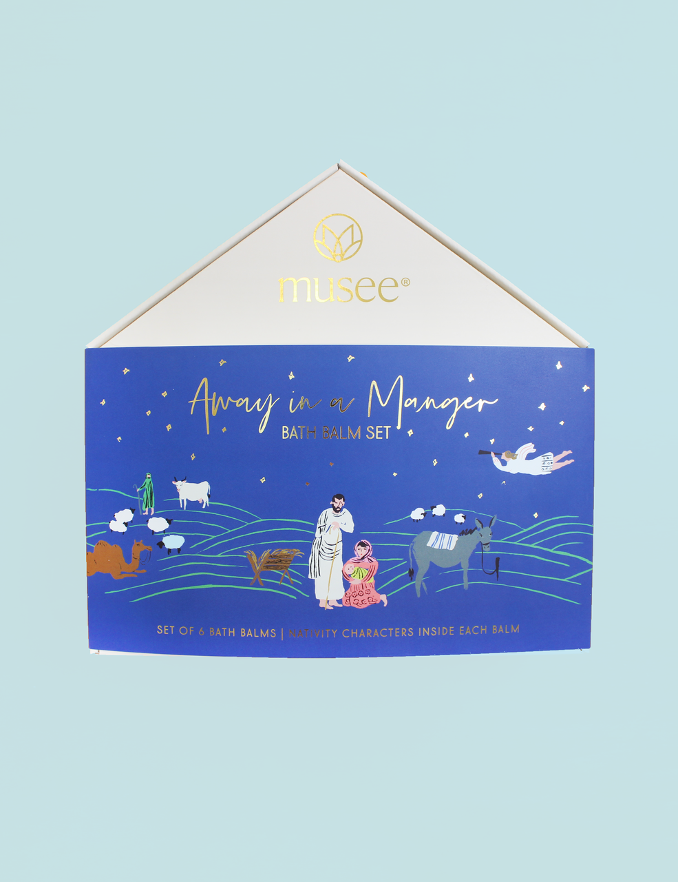Musee Away In A Manger Bath Bomb Set