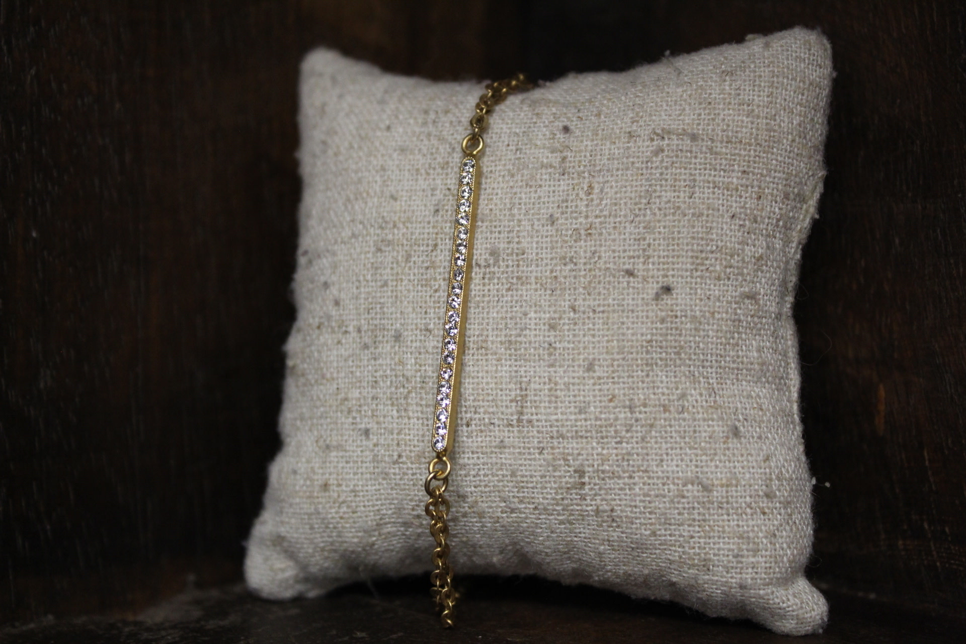 La vie Parisienne Crystal Bar Bracelet