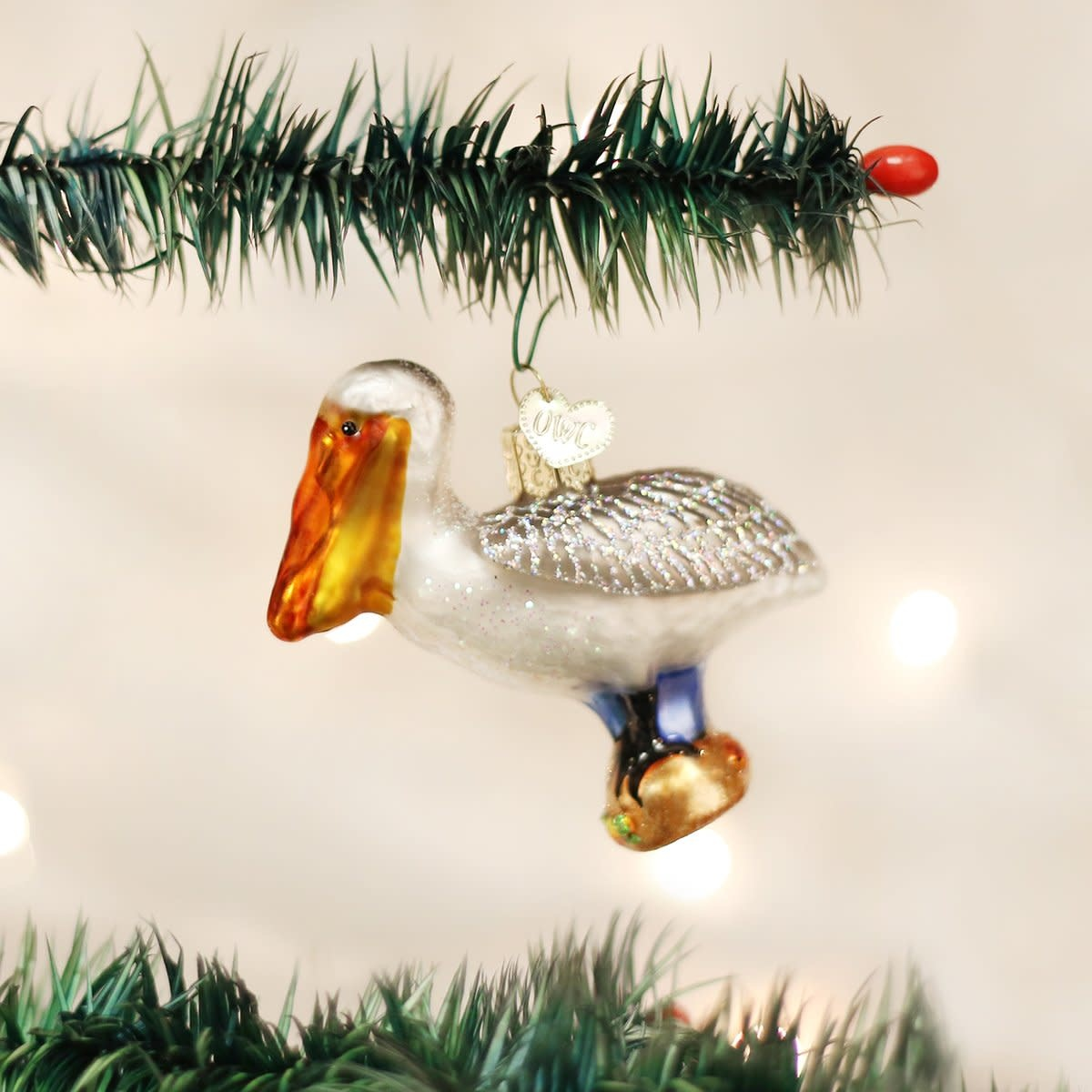 Old World Christmas OWC Pelican Ornament