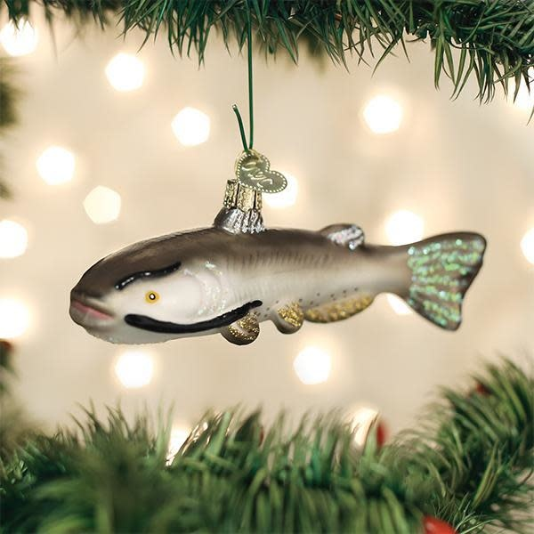 Old World Christmas OWC Catfish Ornament