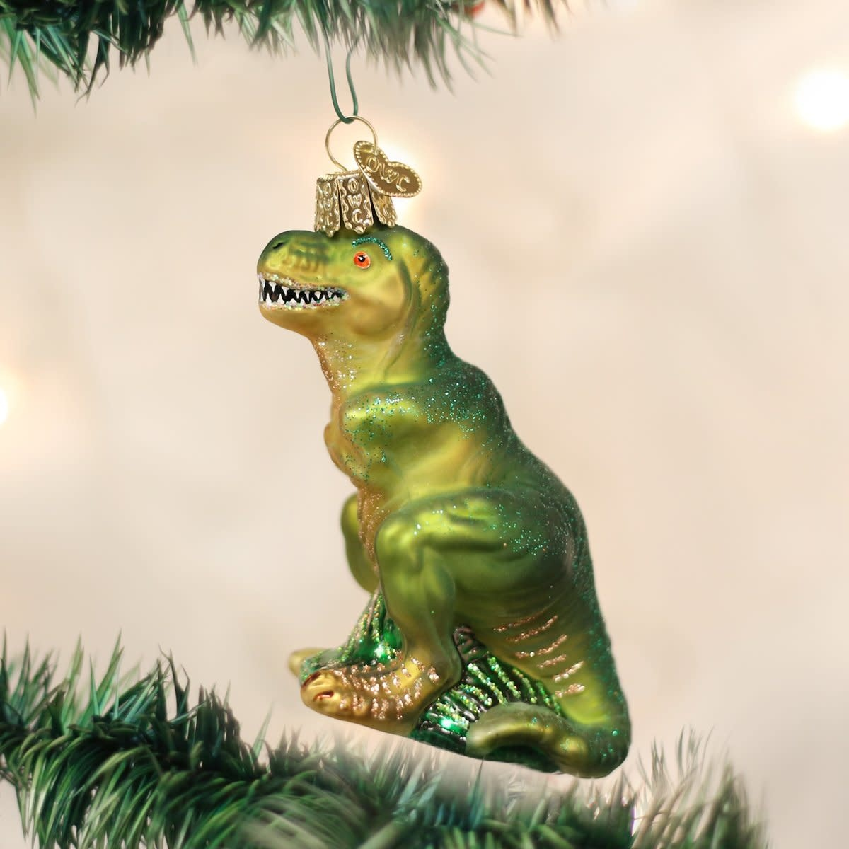 Old World Christmas OWC T-Rex Ornament