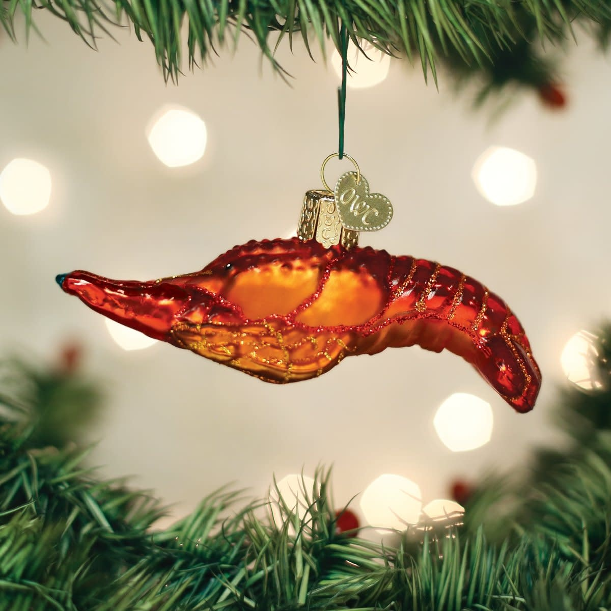 Old World Christmas OWC Crawfish Ornament