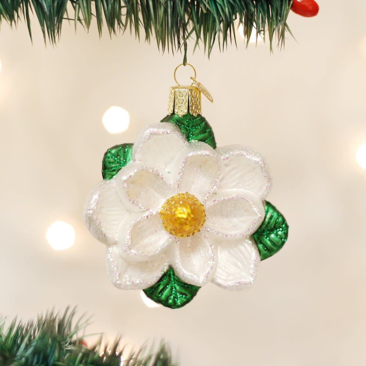 Old World Christmas OWC Magnolia Ornament