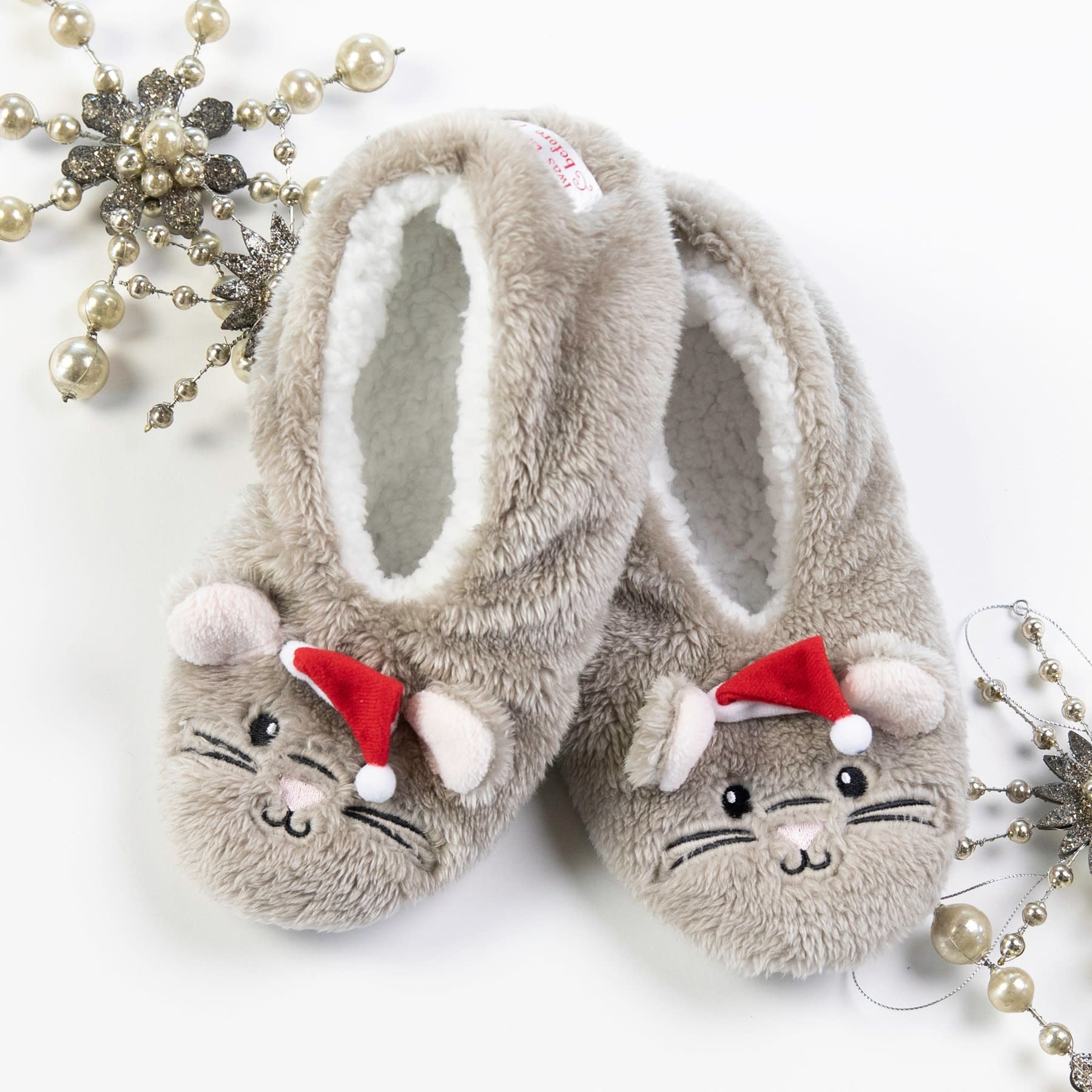 Faceplant Night Before Christmas Mouse Footsies