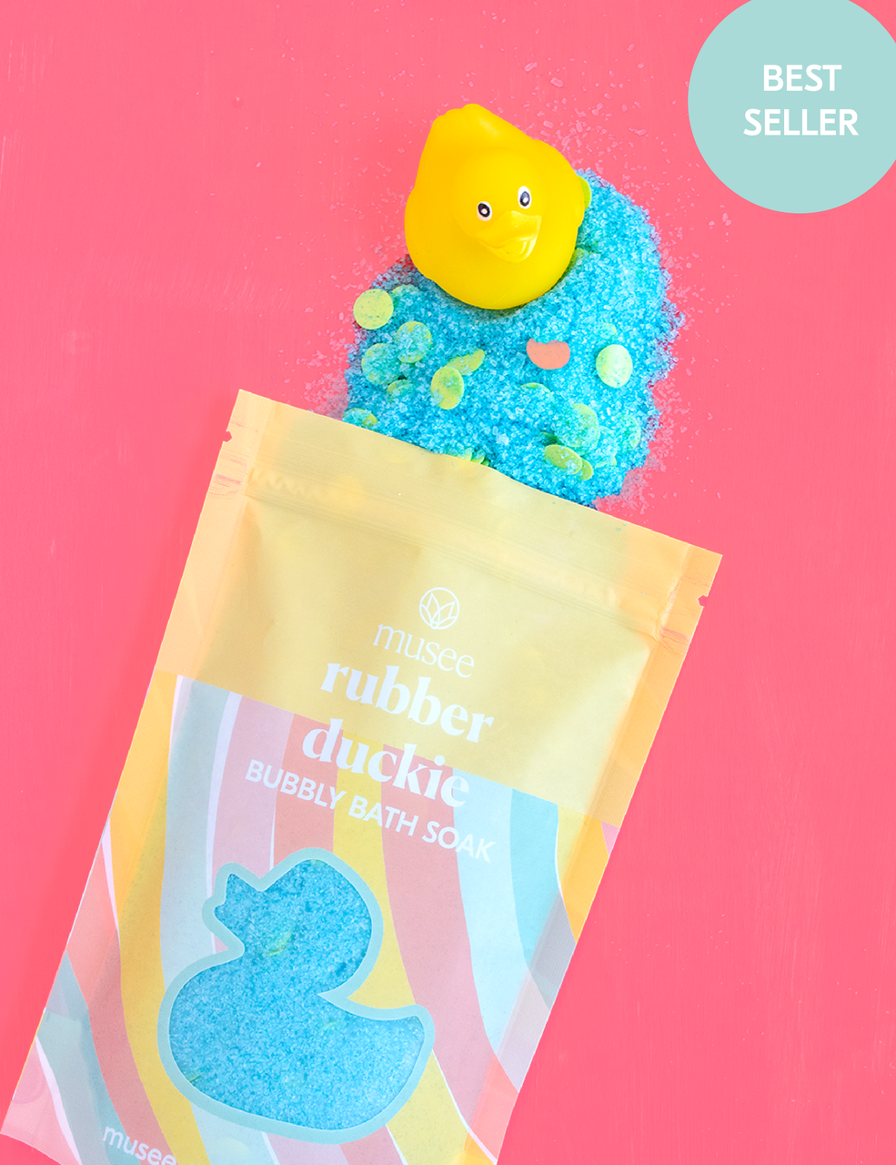 Musee Rubber Duckie Bubbly Bath Soak