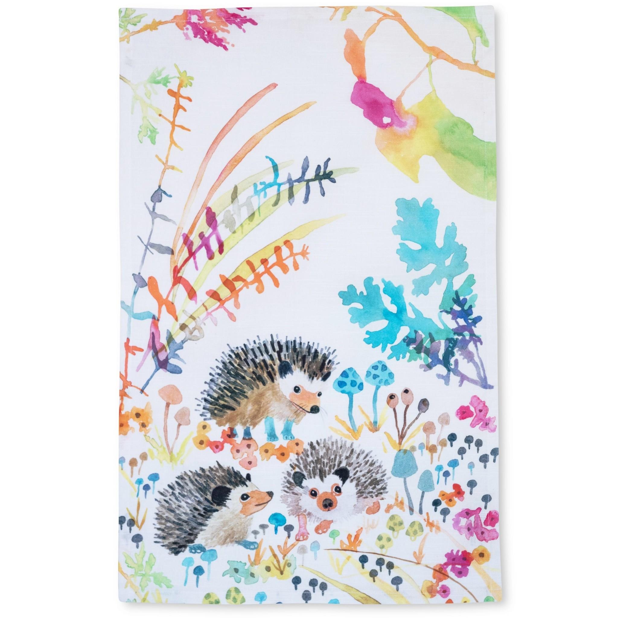 Betsy Olmstead Hedgehog Tea Towel
