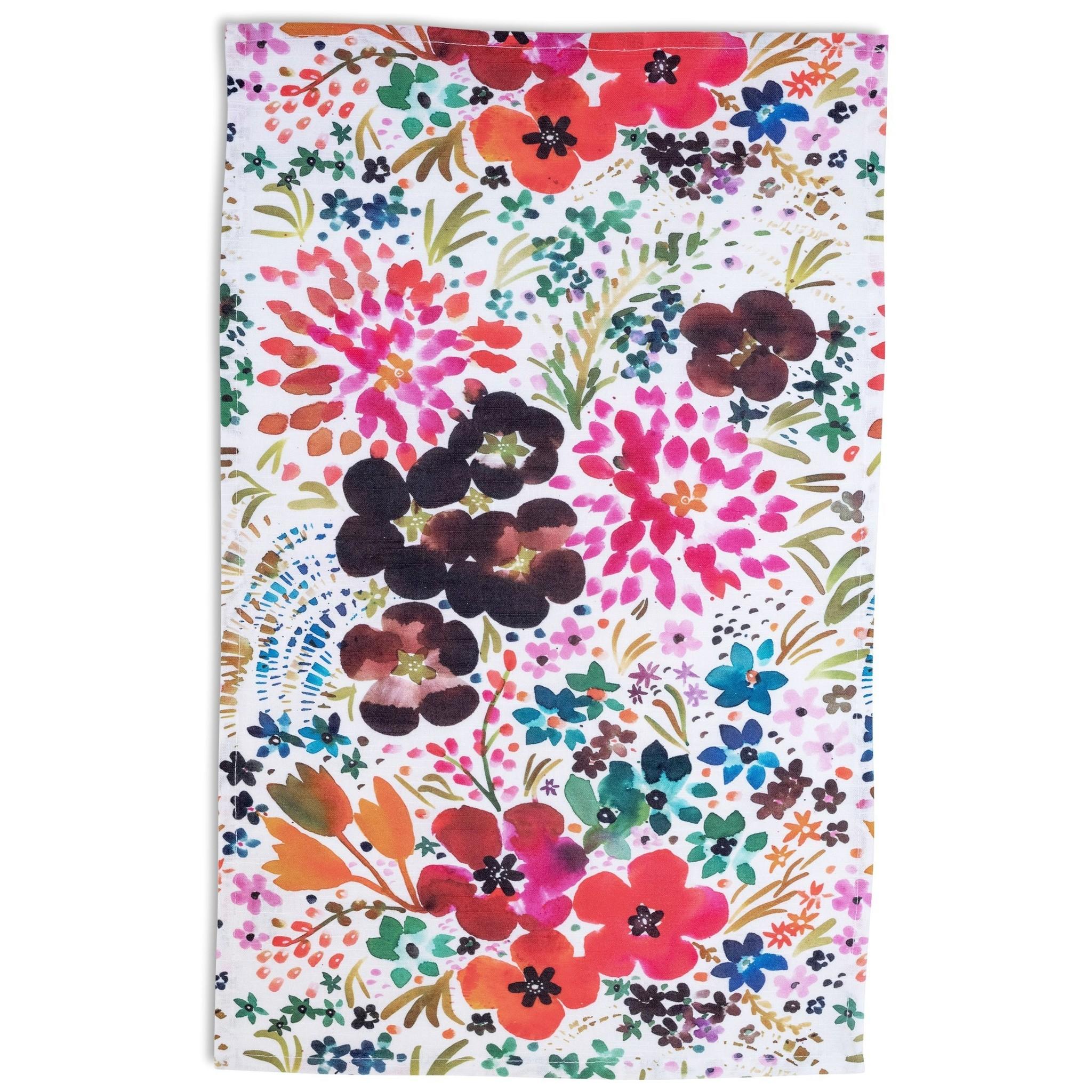 Betsy Olmstead Blooms Tea Towel
