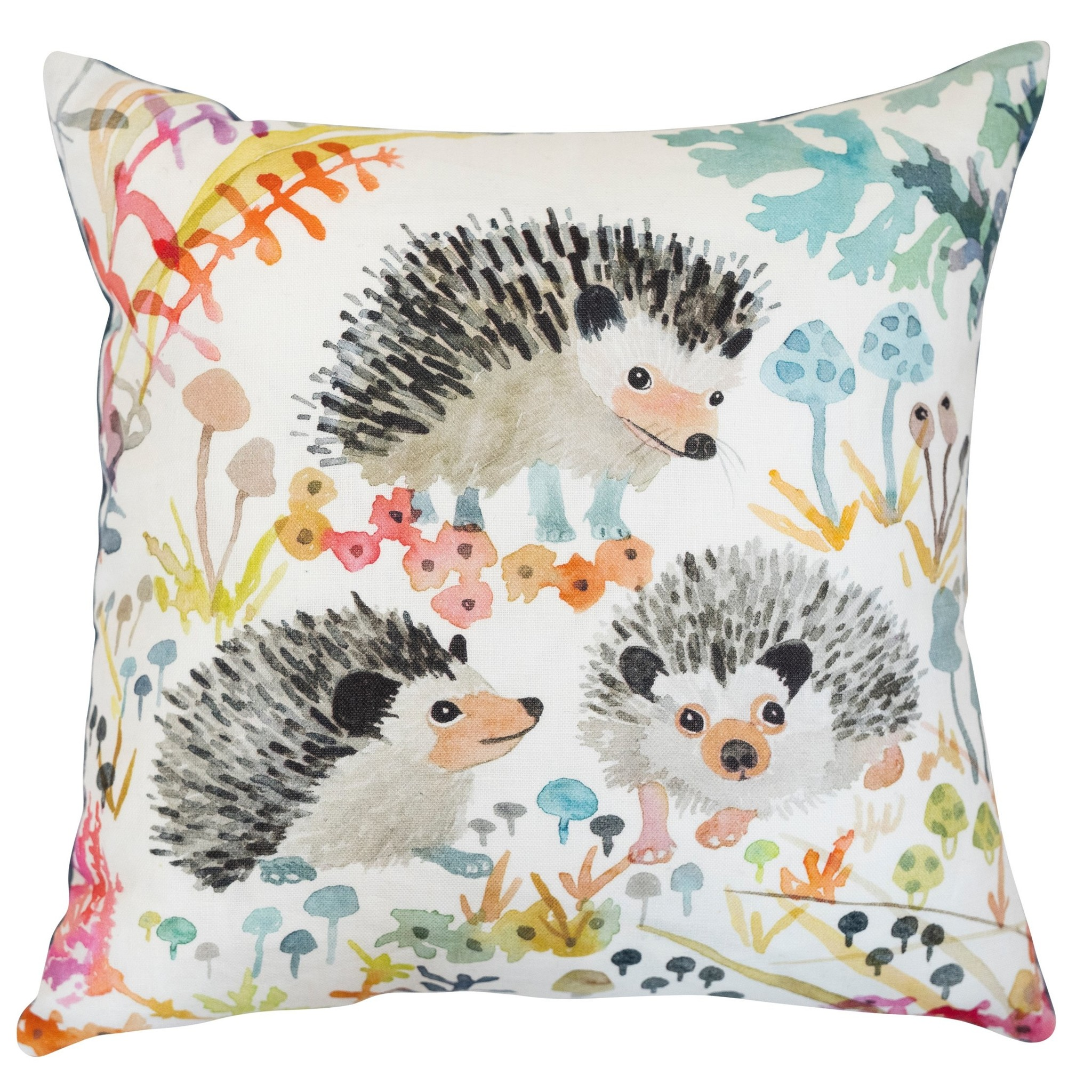 Betsy Olmstead Hedgehog Pillow