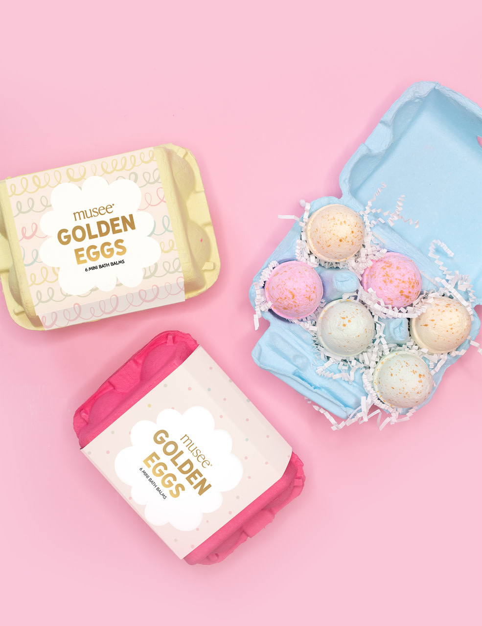 Musee Golden Eggs Carton