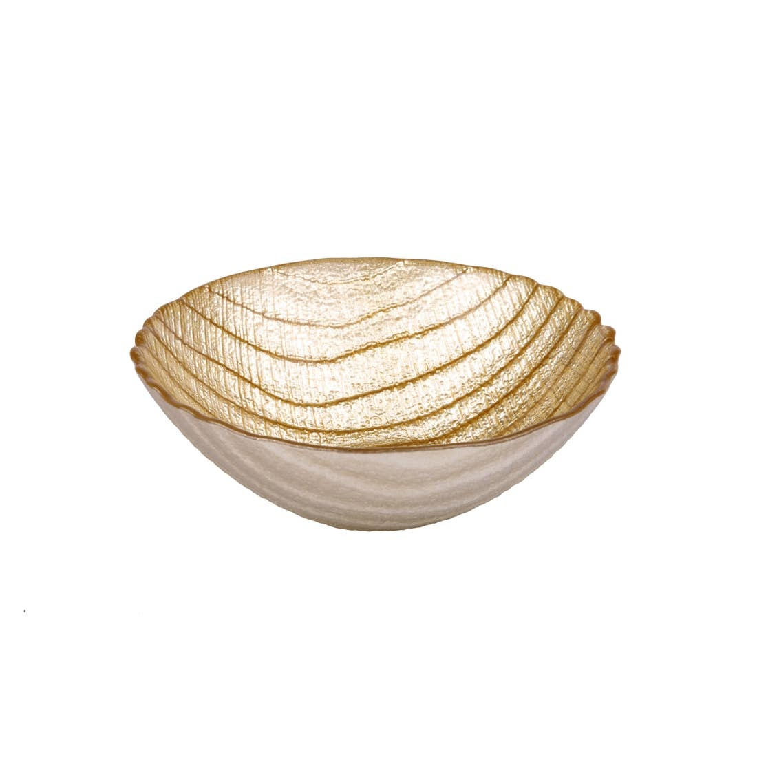 Classic Touch Decor Gold Dessert Bowl