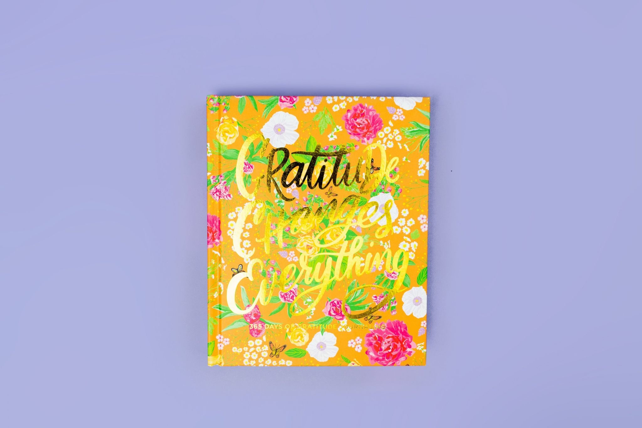 Taylor Elliott Gratitude Journal- Signature Garden Party Floral