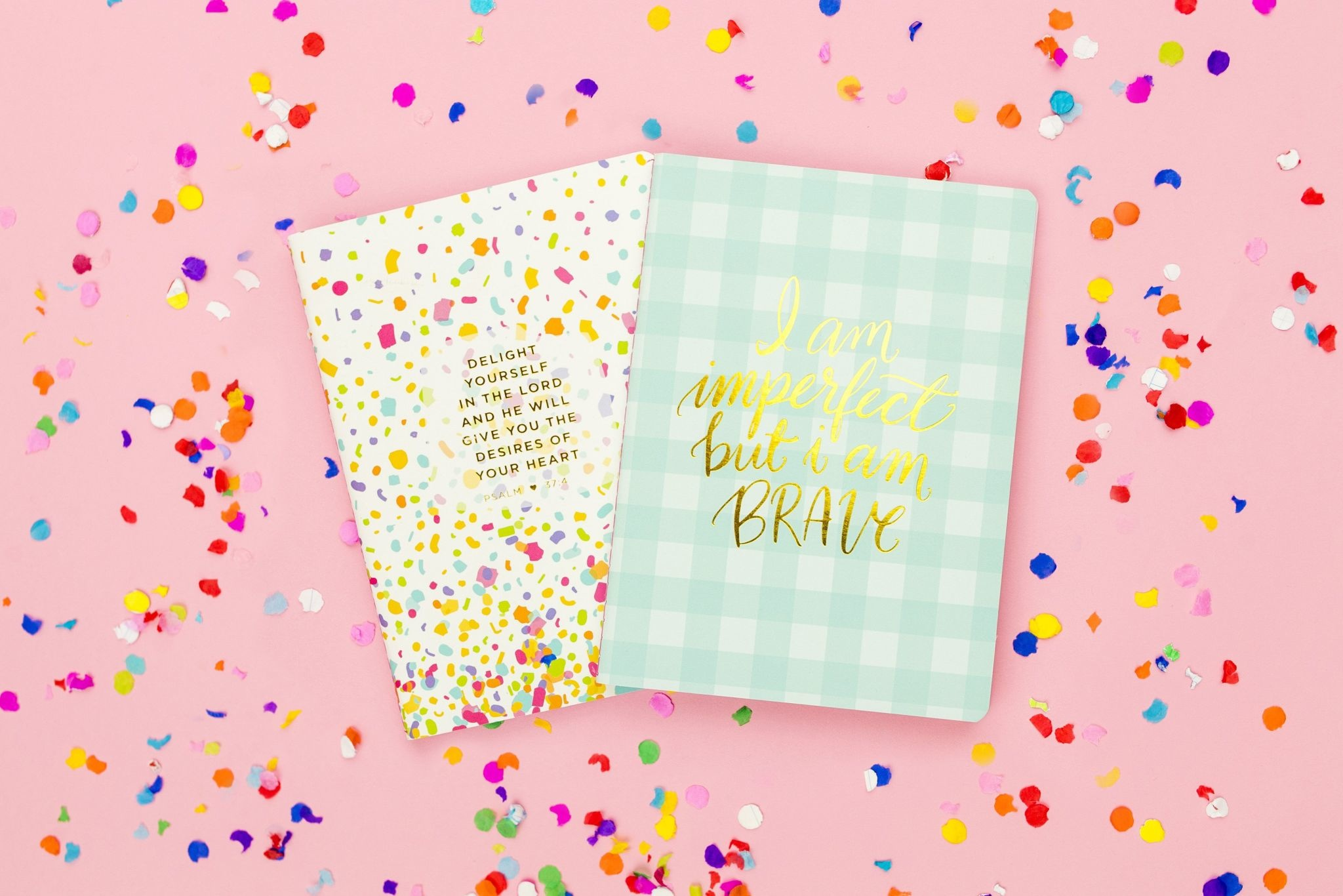 Taylor Elliott Confetti Prayer Notebook Set