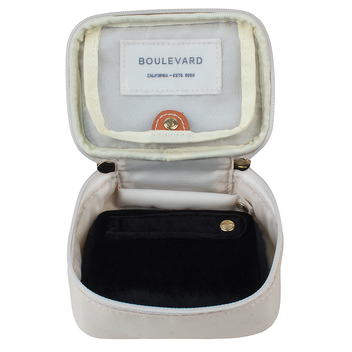 Boulevard Zoe Canvas Jewelry Case
