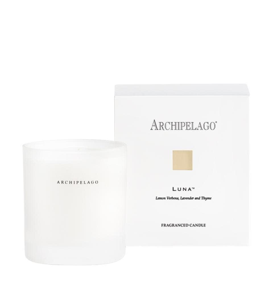 Archipelago Luna Soy Boxed Candle