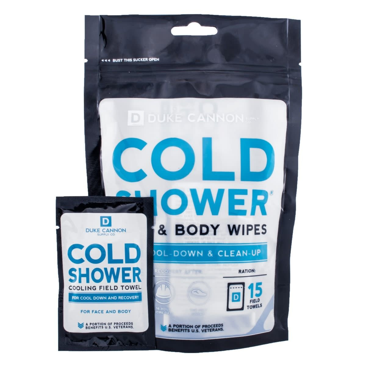 Duke Cannon Cold Shower Field Towels Multipack