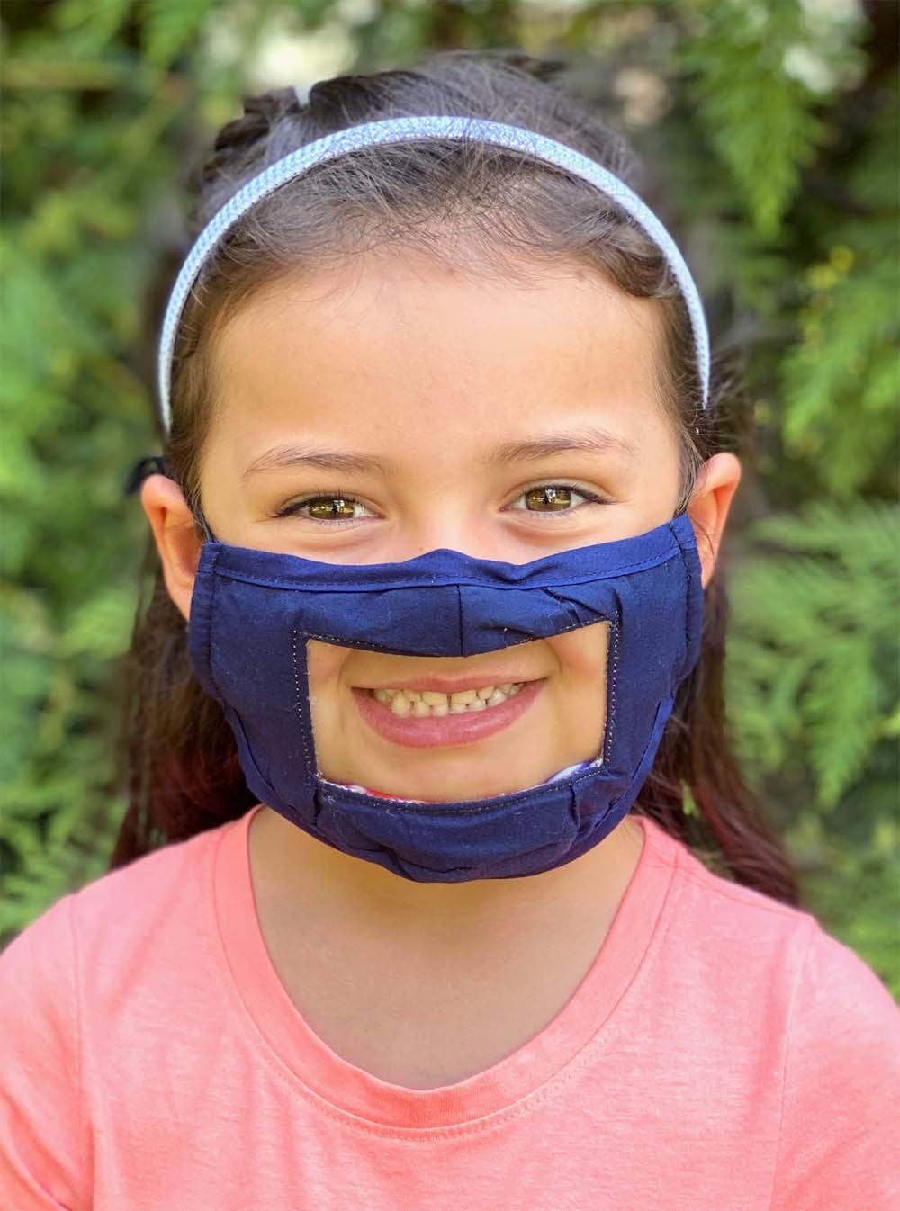 Living Royal Reversible Kids Smile Mask