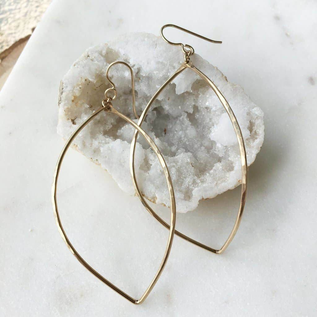 Token Jewelry Lemon Drops Earrings 14k Gold Fill