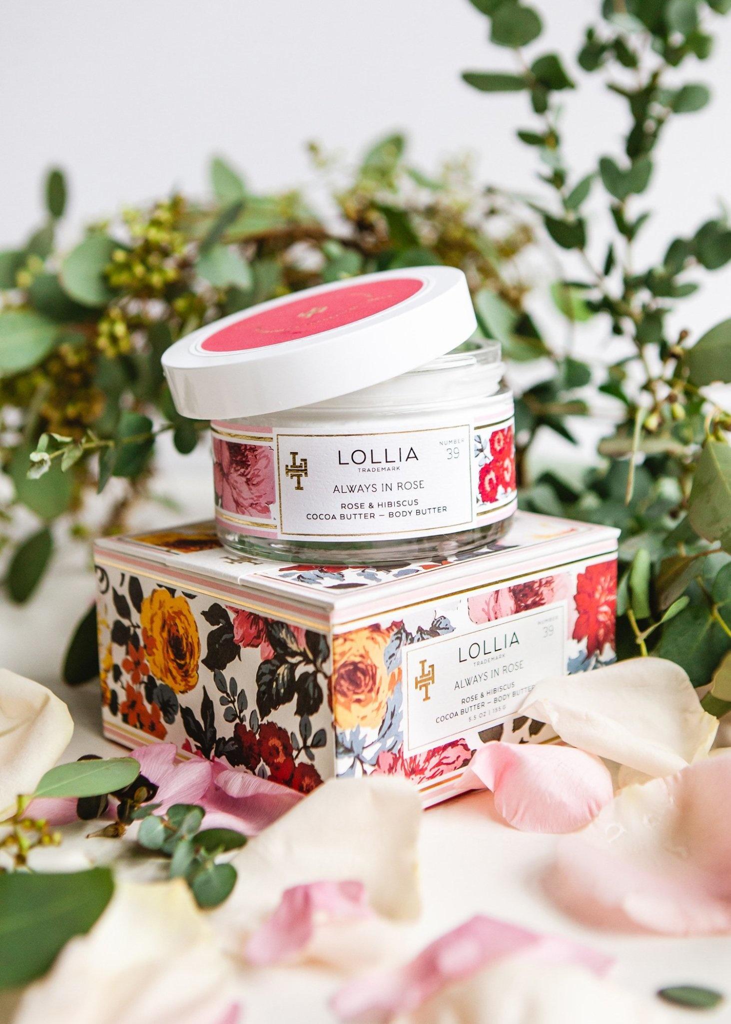 Lollia Always In Rose Body Butter