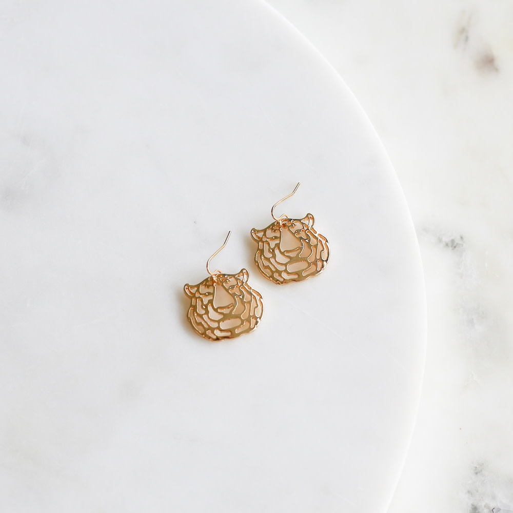 The Royal Standard Gold Bengal Earrings