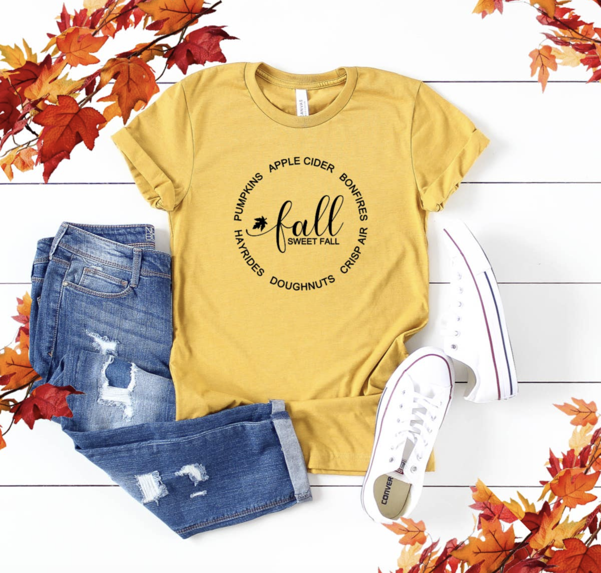 Top Crate Fall Graphic Shirt-Fall Sweet
