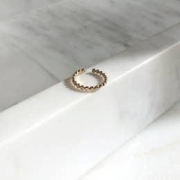 Token Jewelry Sequin Ear Cuff 14K Gold Fill
