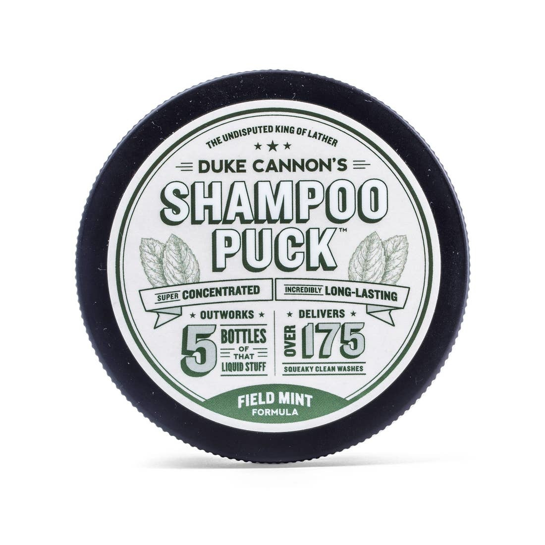 Duke Cannon Shampoo Puck/Field Mint