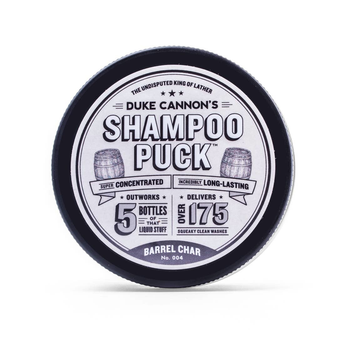 Duke Cannon Shampoo Puck/Barrel Char