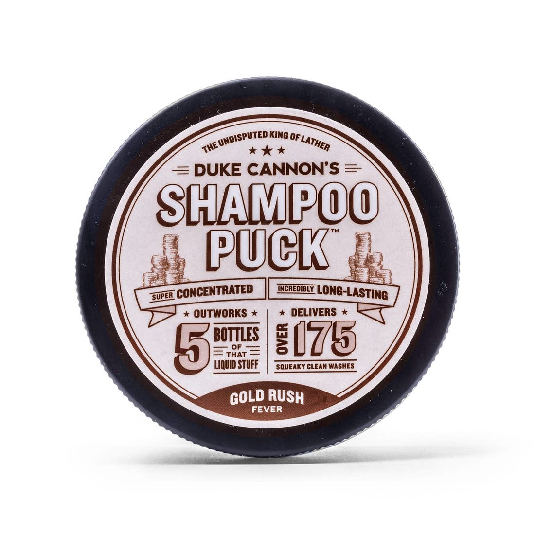 Duke Cannon Shampoo Puck/Gold Rush