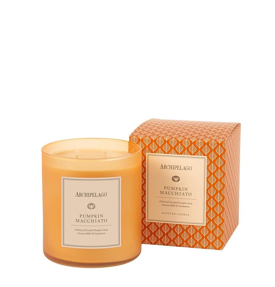 Archipelago Pumpkin Macchiato Boxed Candle