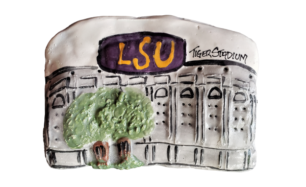Architectural Memories LSU Tiger Stadium Plaque