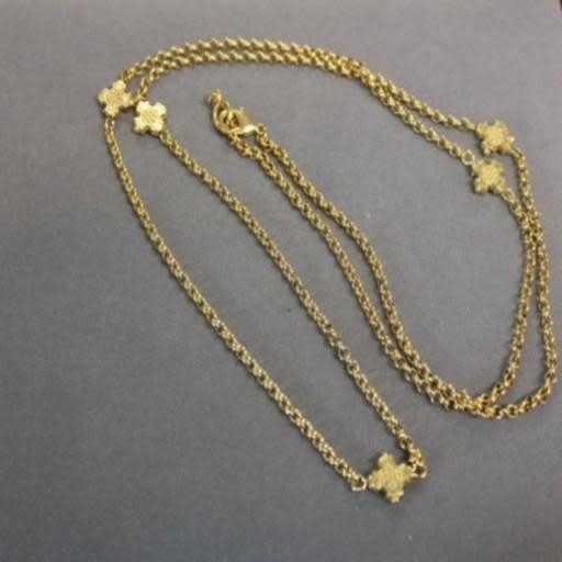 "34"" Necklace w/ Crosses"