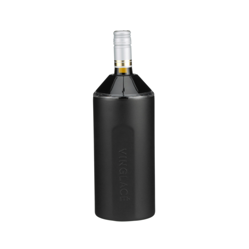 Vin Glace Black Powder Coat Wine Insulator