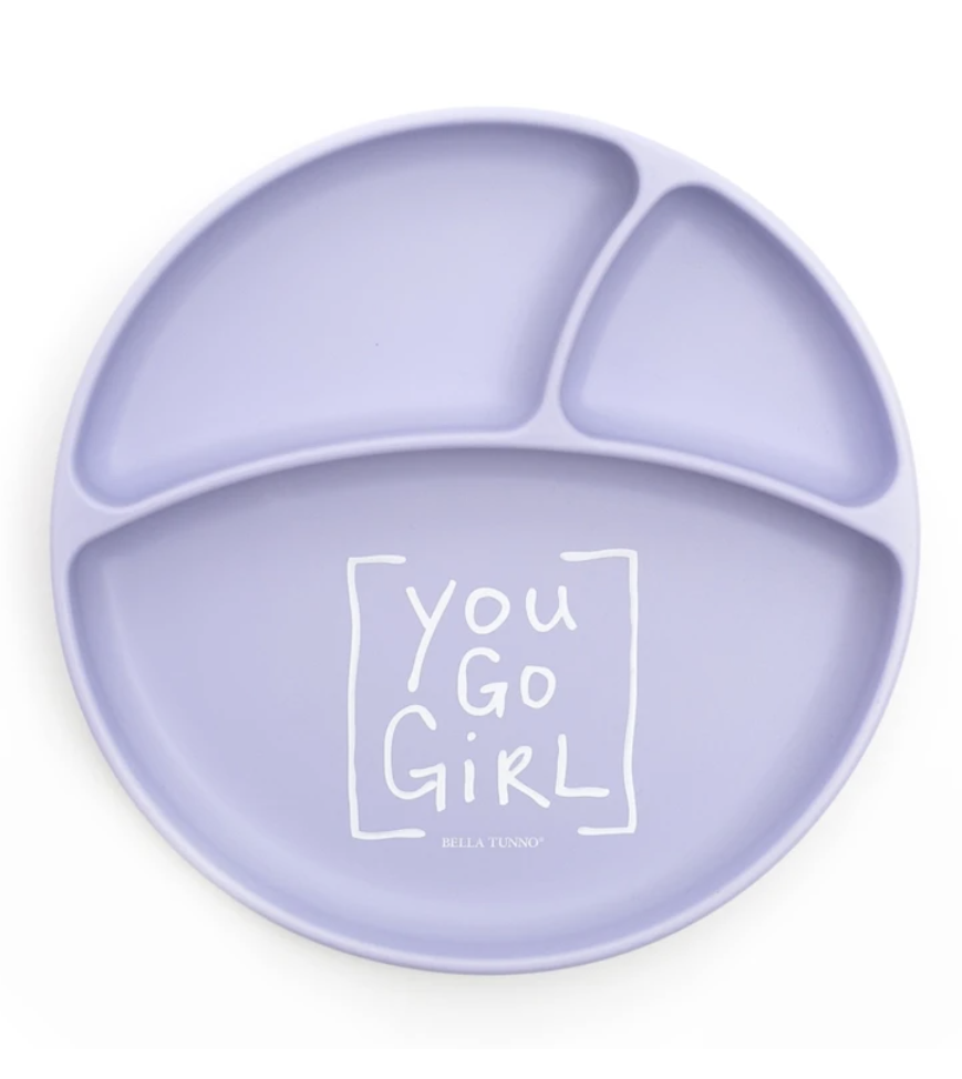 Bella Tunno You Go Girl Wonder Plate