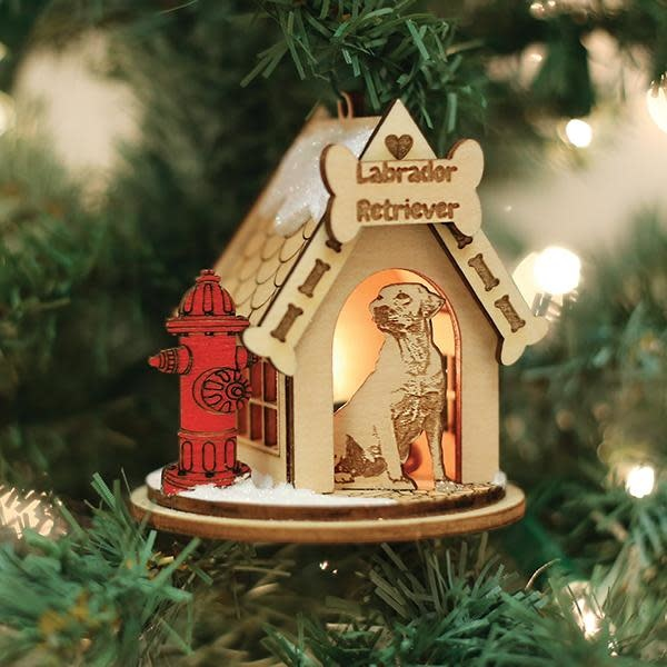 Old World Christmas OWC Labrador Ornament