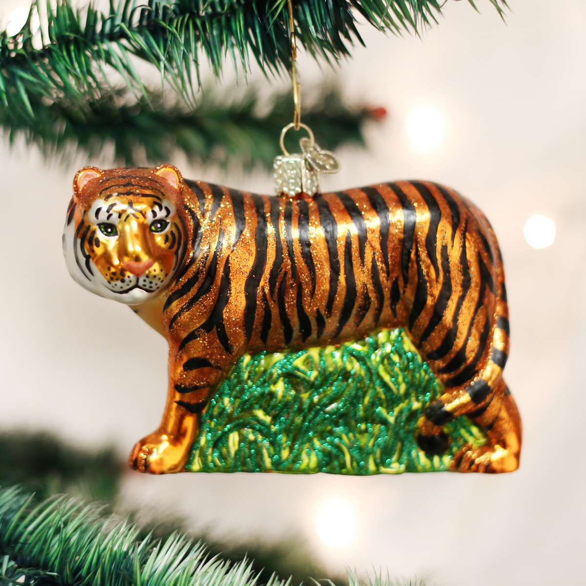 Old World Christmas OWC Tiger Ornament