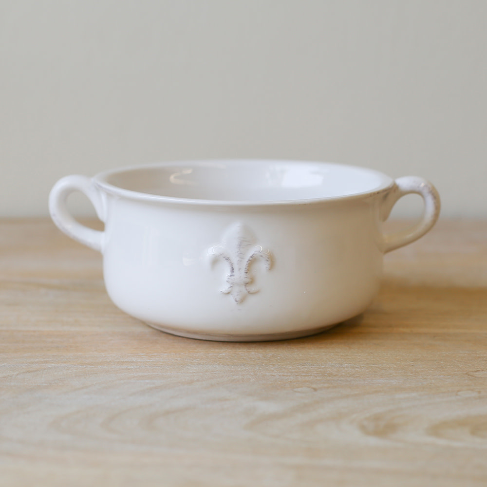 The Royal Standard LaFleur Double Handle Bowl