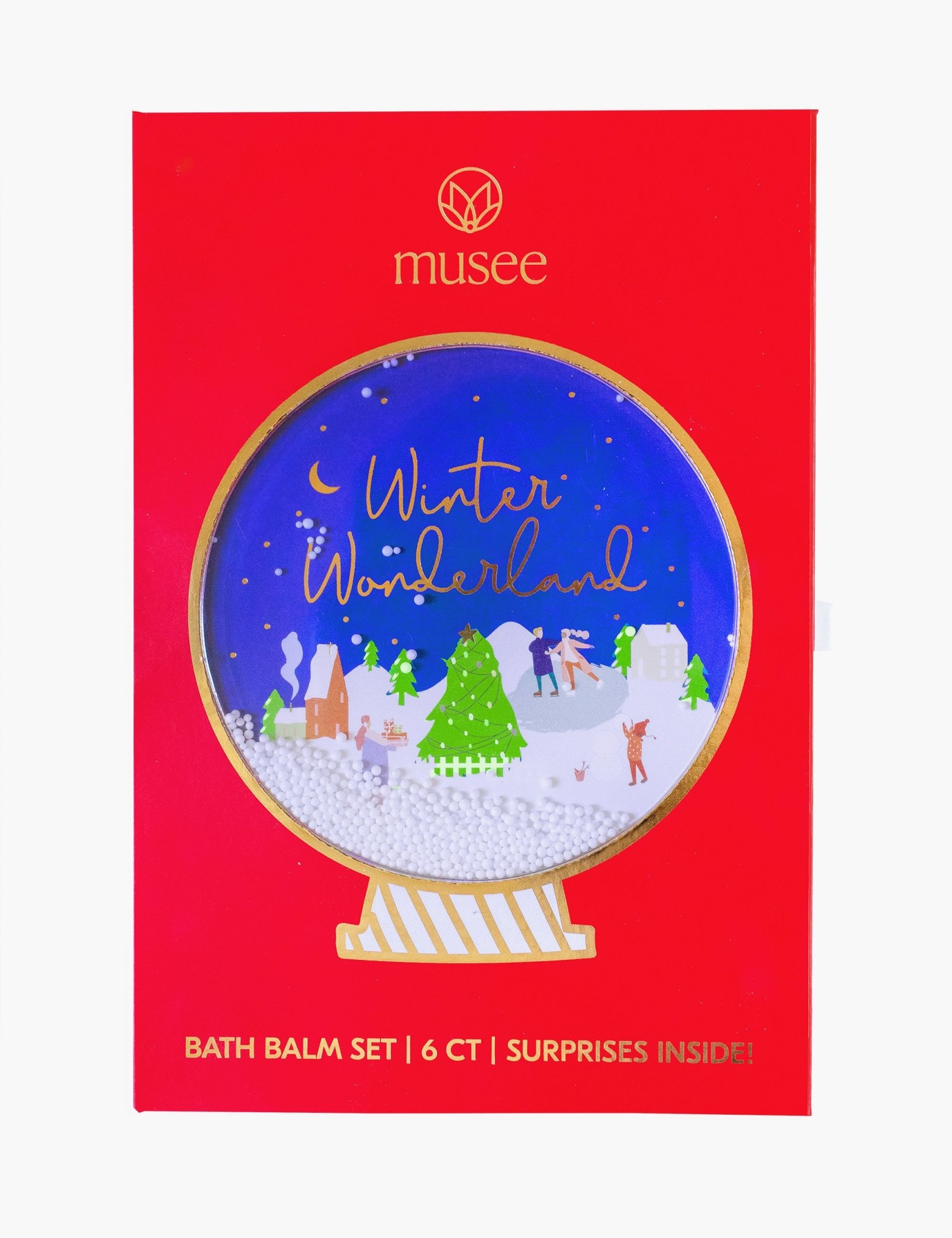 Musee Winter Wonderland Six Balm Set