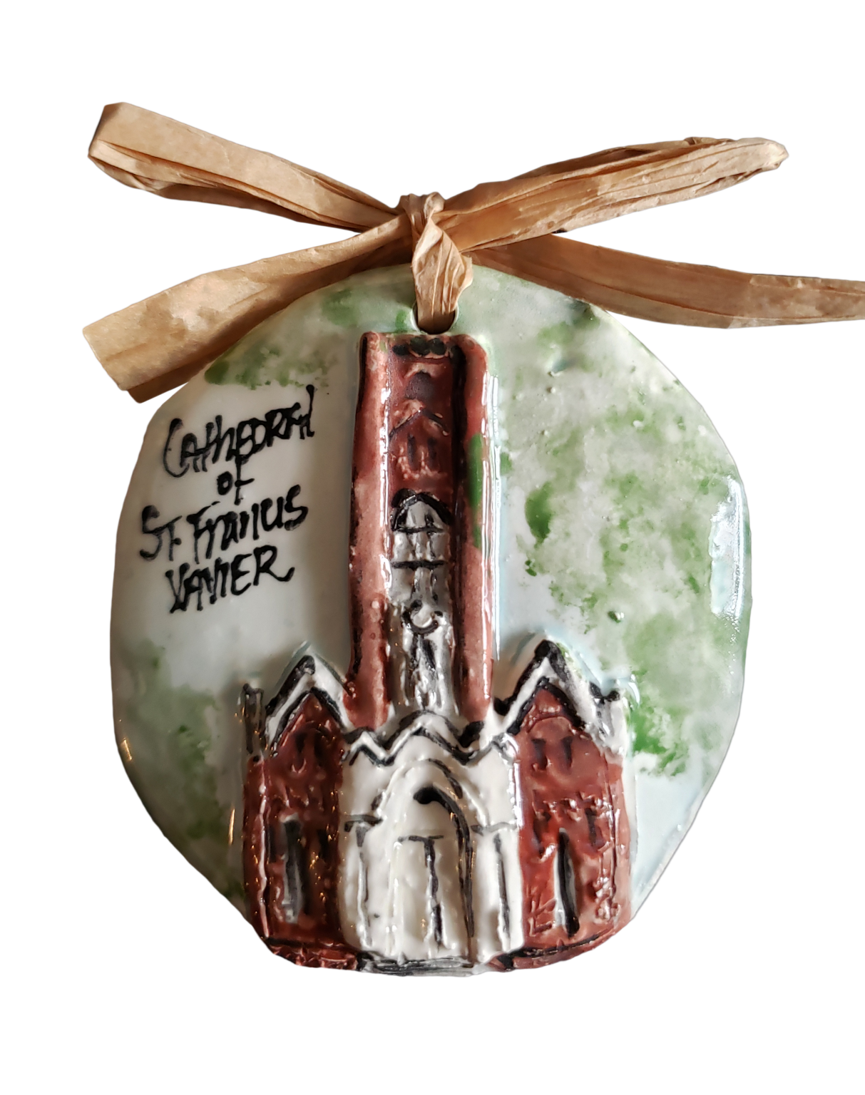 Architectural Memories St. Francis Xavier Cathedral Ornament