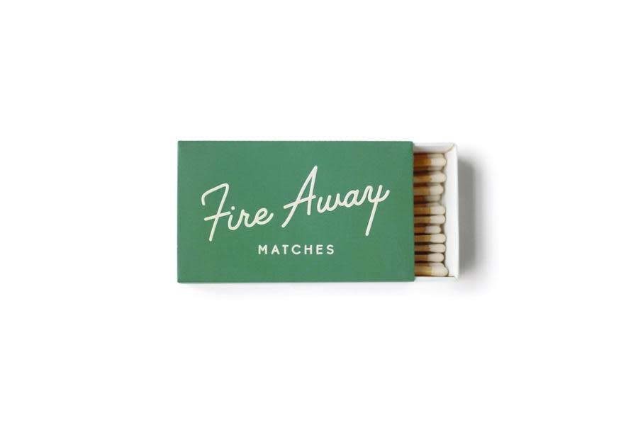Paddywax Fire Away Safety Matches-Green