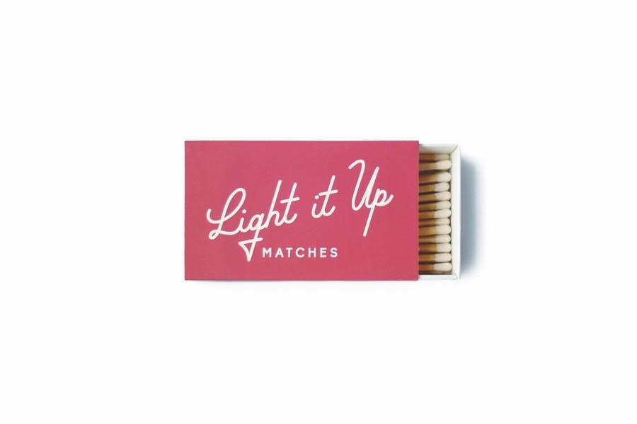Paddywax Light it Up Safety Matches-Coral