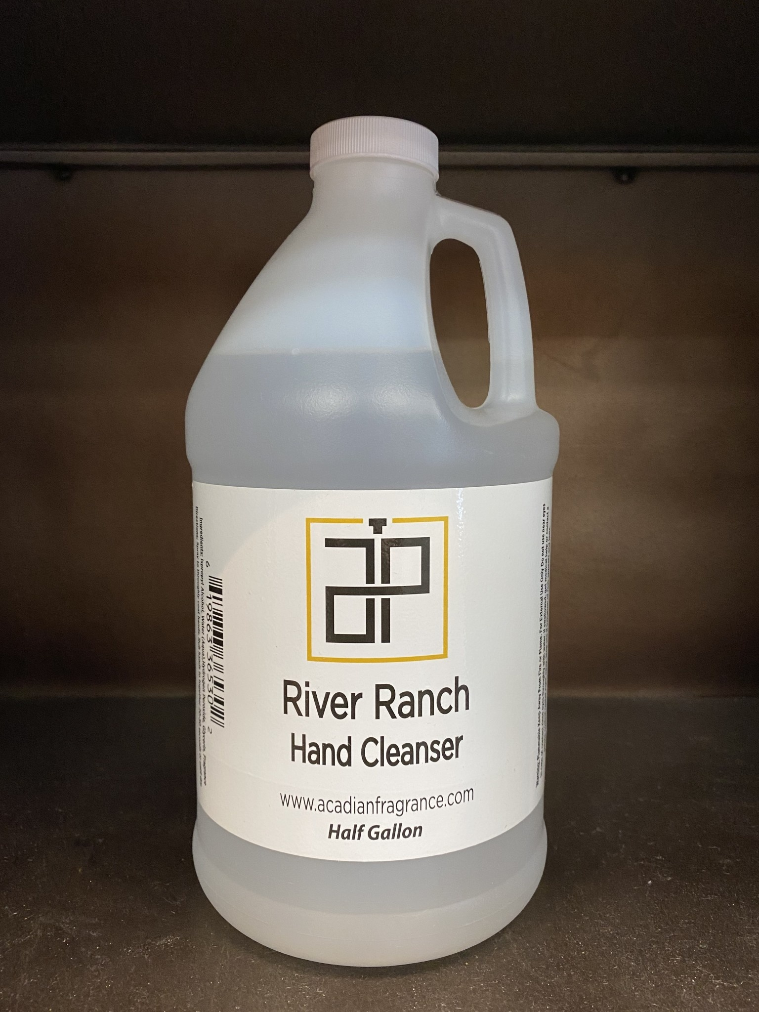 Acadian Pride Fragrance Company 1/2 Gallon River Ranch Hand Cleanser